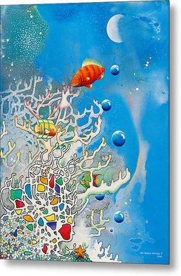 Liza's Reef Metal Print by Lee Pantas