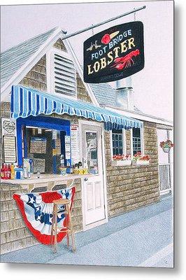 Lobster Shack Metal Print by Glenda Zuckerman
