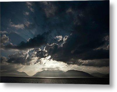 Loch Linnhe Sunset Metal Print by Mark Denham