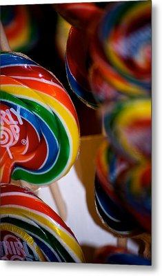 Lollipops Metal Print by Lisa Knechtel