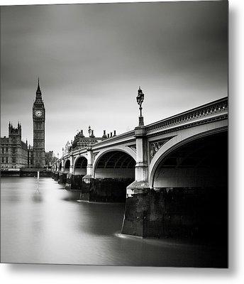 London Westminster Metal Print by Nina Papiorek