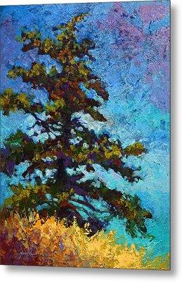 Lone Pine II Metal Print by Marion Rose
