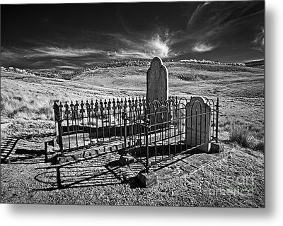 Lonely Graves Metal Print by Russ Brown