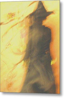 Long Cool Woman In A Black Dress Metal Print by Susie DeZarn