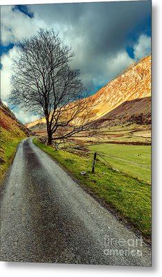 Long Road Home Metal Print by Adrian Evans