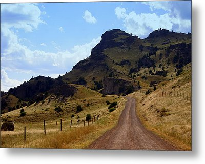 Lonly Road Metal Print by Marty Koch