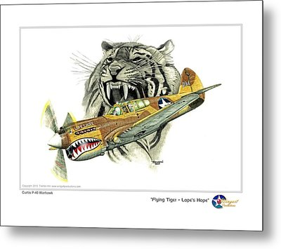 Lopes Hope Metal Print by Trenton Hill