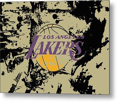 Los Angeles Lakers  Metal Print by Brian Reaves