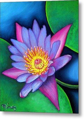 Lotus Divine Metal Print by Minaz Jantz