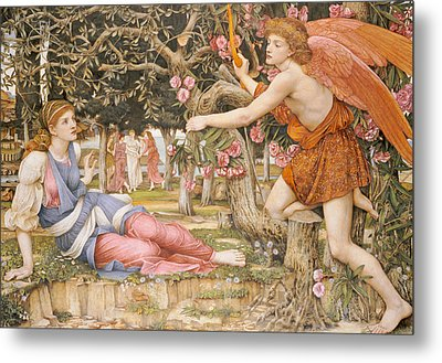 Love And The Maiden Metal Print by JRS Stanhope