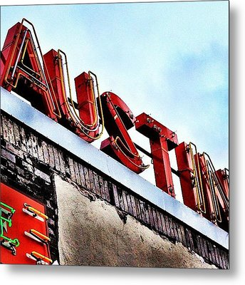 Love #austin Metal Print by Things To Do In Austin Texas