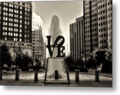 Love In Sepia Metal Print by Bill Cannon