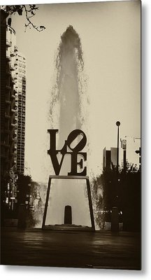 Love Love Love Metal Print by Bill Cannon
