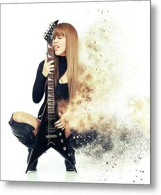 Love Music Metal Print by Stephen Smith