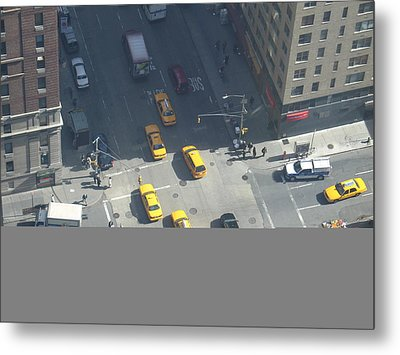 Love On A Street Corner Metal Print by See Me Beautiful Photography