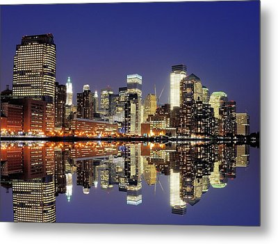 Lower Manhattan Skyline Metal Print by Sean Pavone