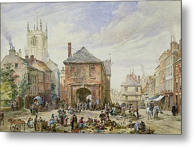 Ludlow Metal Print by Louise J Rayner
