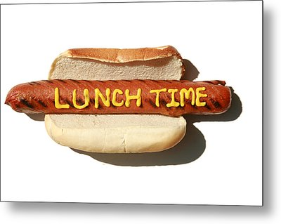 Lunch Time Metal Print by Michael Ledray