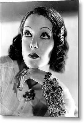 Lupe Velez, Mgm, 1933, Photo Metal Print by Everett