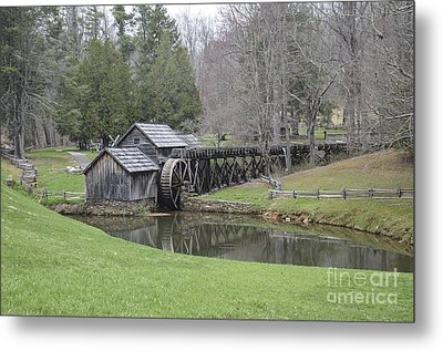 Mabry Mill Metal Print by Jim Cook