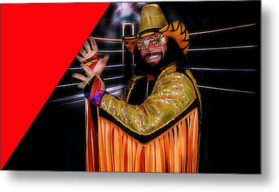 Macho Man Randy Savage Collection Metal Print by Marvin Blaine