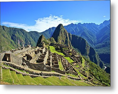 Machu Picchu Metal Print by Kelly Cheng Travel Photography