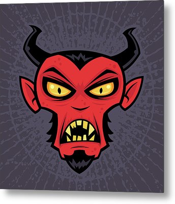 Mad Devil Metal Print by John Schwegel