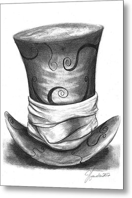 Mad Hat Metal Print by J Ferwerda