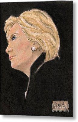 Madame President Metal Print by P J Lewis