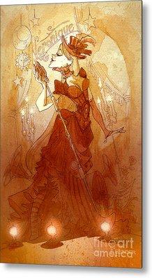 Mademoiselle Veronique Metal Print by Brian Kesinger
