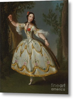 Mademoiselle Violette Dancing Metal Print by Celestial Images