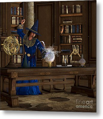 Magician Metal Print by Corey Ford
