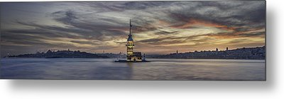 Maiden Tower Metal Print by Rilind Hoxha