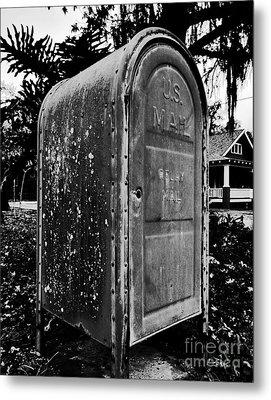 Mail Box Metal Print by David Lee Thompson