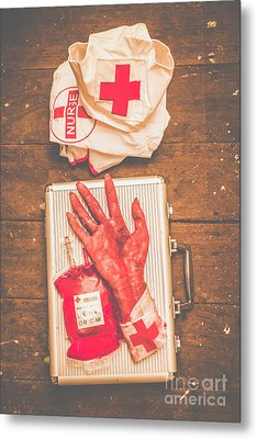 Make Your Own Frankenstein Medical Kit  Metal Print by Jorgo Photography - Wall Art Gallery
