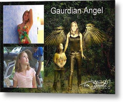 making Guardian Angel Metal Print by Tom Straub