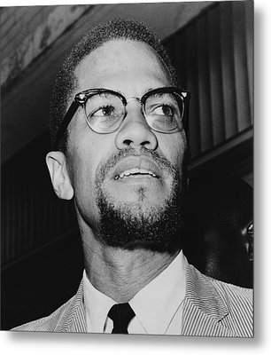 Malcolm X 1925-1965 In 1964, The Year Metal Print by Everett