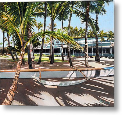 Mama's Fish House Metal Print by Stacy Vosberg