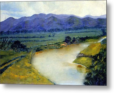 Manati River Metal Print by Gladiola Sotomayor