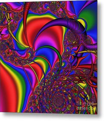 Mandala 164 Metal Print by Rolf Bertram