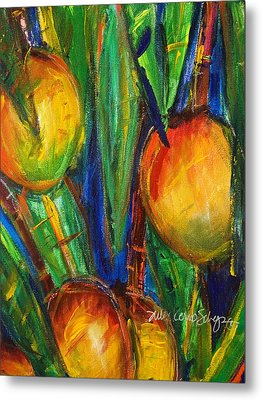Mango Tree Metal Print by Julie Kerns Schaper - Printscapes