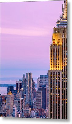 Manhattan Magic Metal Print by Az Jackson