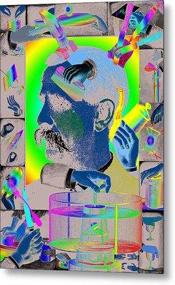 Manipulation Metal Print by Eric Edelman