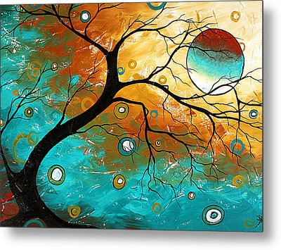 Many Moons Ago By Madart Metal Print by Megan Duncanson
