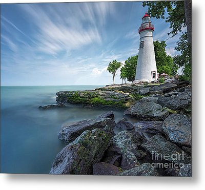 Marblehead Breeze Metal Print by James Dean