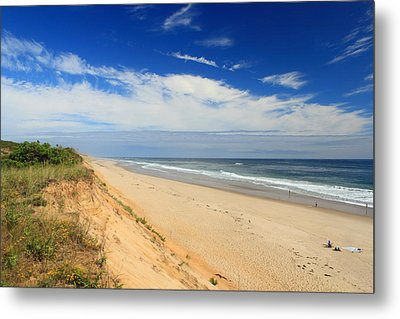 Marconi Beach Cape Cod National Seashore Metal Print by John Burk