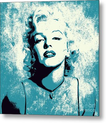 Marilyn Monroe - 201 Metal Print by Variance Collections