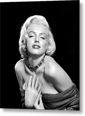 Marilyn Monroe Metal Print by Everett