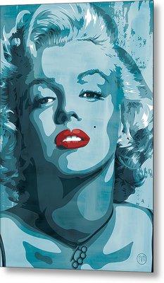 Marilyn Monroe Metal Print by Jeff Nichol