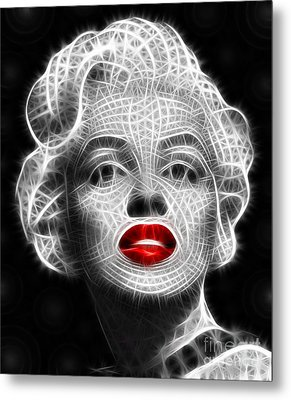 Marilyn Monroe Metal Print by Pamela Johnson